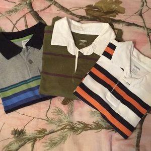 Boys size 6 long sleeve Gymboree Shirts